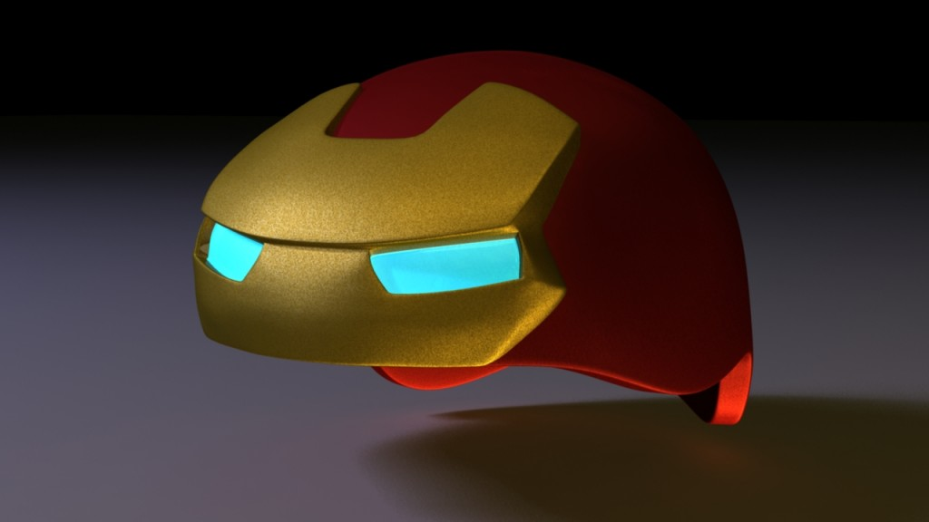 ironman-bike helmet-3d-render1